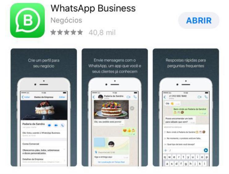 negócio whatsapp